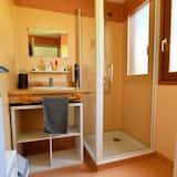 Chalet Standard, accessible aux personnes à mobilité réduite ((N°2) Lilas BOISSET) - Salle de bain