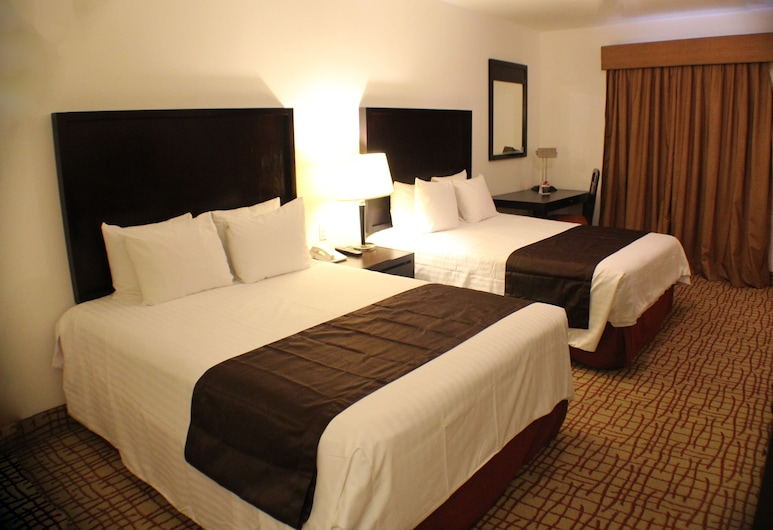 Misión Grand Torreón, Torreón, Habitación Grand, 2 camas dobles (Preferential), Habitación