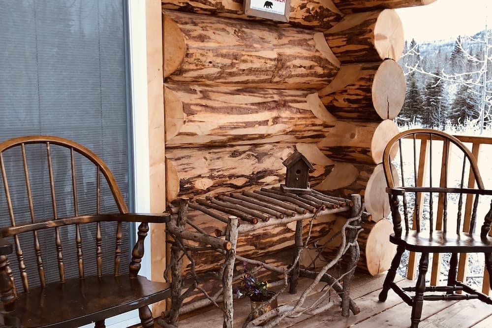 Bear Cabin, Mountain view - Balcony