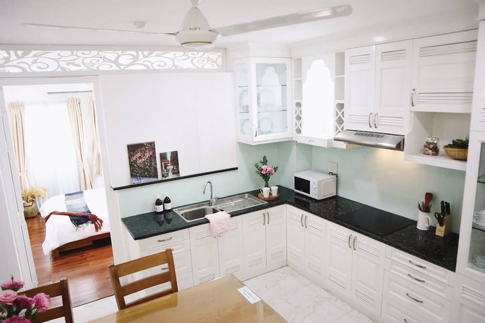 Luxury Apart Daire - Ortak mutfak