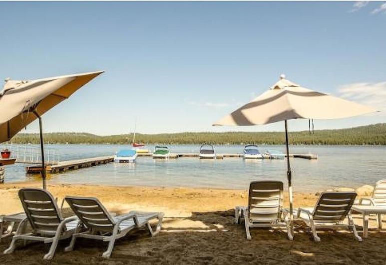 Timberlake Paradise, Condo Timberlake A-4, on the Shore of Payette Lake, McCall, Beach