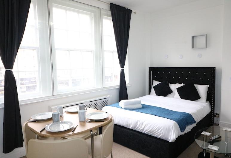 Stylish & Central Located Studio Hyde Park, Lontoo, Comfort-huoneisto, Oma kylpyhuone, Huone