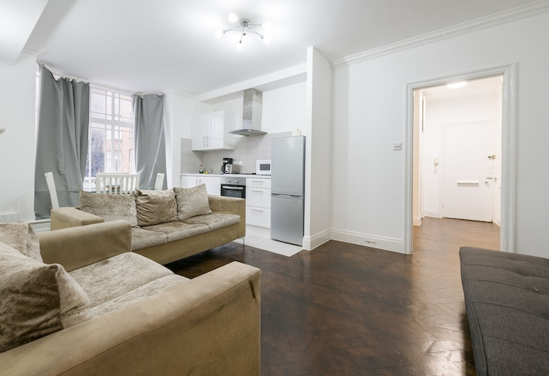 坤斯威可愛寬敞 2 房公寓酒店, 倫敦, 家庭公寓, 私人浴室, 酒廊