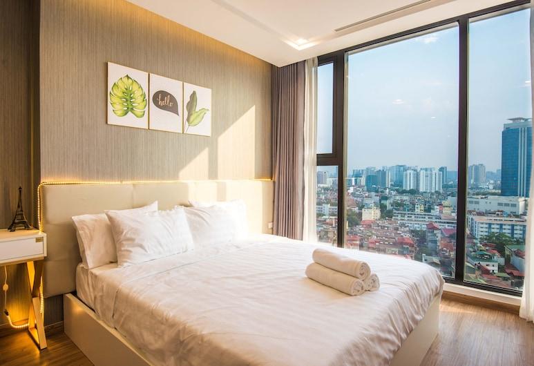 Leo House Vinhomes Metropolis Apartment, Hanoi, Apartment, 3 Bedrooms, View from room