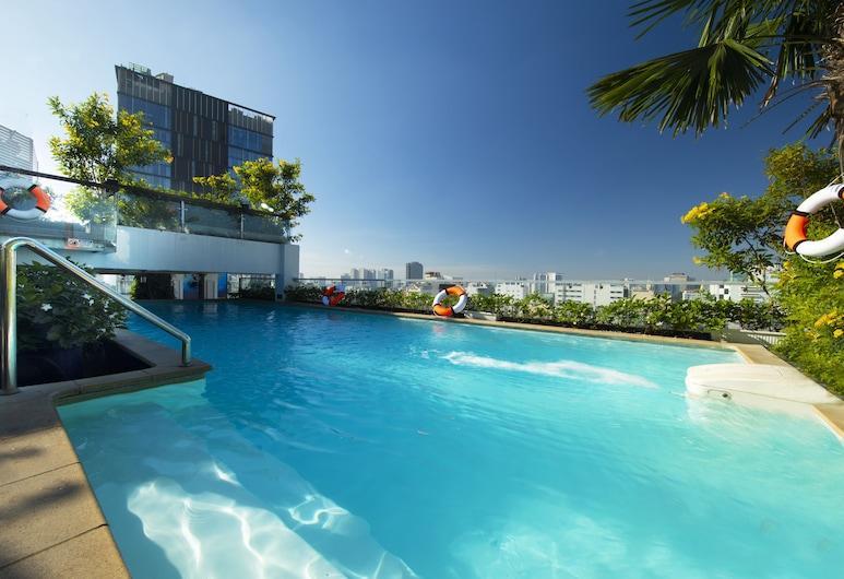 阿拉貢普拉斯 Spa 飯店, 胡志明市, 室外游泳池