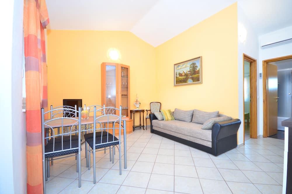 Căn hộ, 1 phòng ngủ (A2) - Khu phòng khách