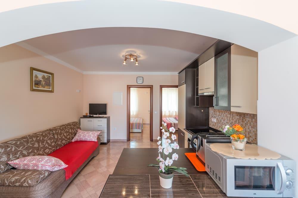 Huoneisto, 2 makuuhuonetta (A1) - Oleskelualue