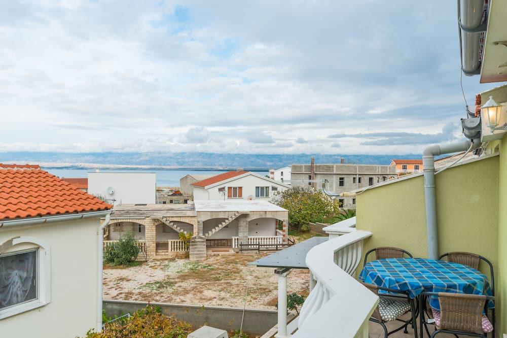 Апартаменти, 2 спальні (A2) - Балкон