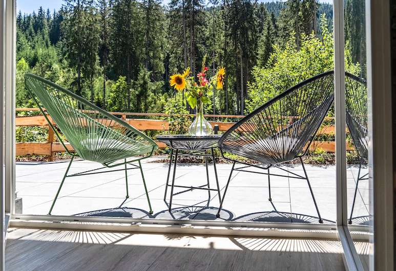 St. Hubertus Apartments - Black Forest, Titisee-Neustadt, Estudio, Terraza o patio