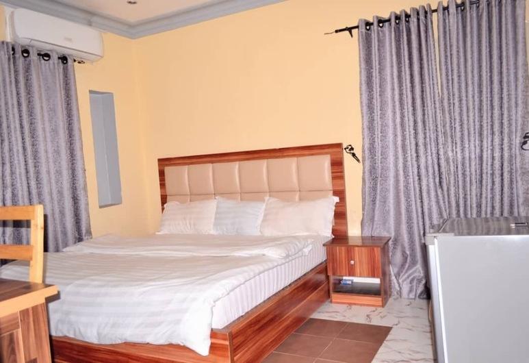 大甜椒公寓酒店, Abuja, 豪華客房, 1 間臥室, 非吸煙房, 城市景, 客房