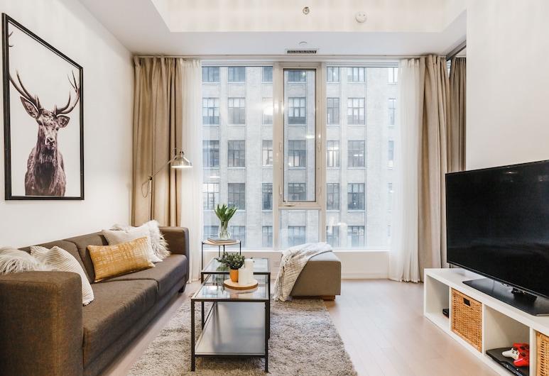 Sarkar Suites - Peter Street, Toronto, Living Area