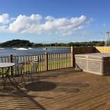Lake View 6 Lodge (Ferndown) - Balcony