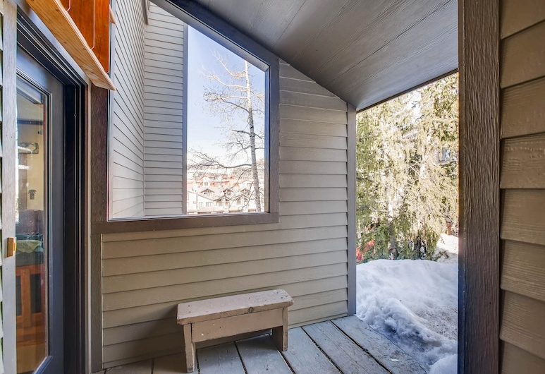 Vintage Studio- Private Balcony Studio Bedroom Condo, Crested Butte, شقة, Μπαλκόνι