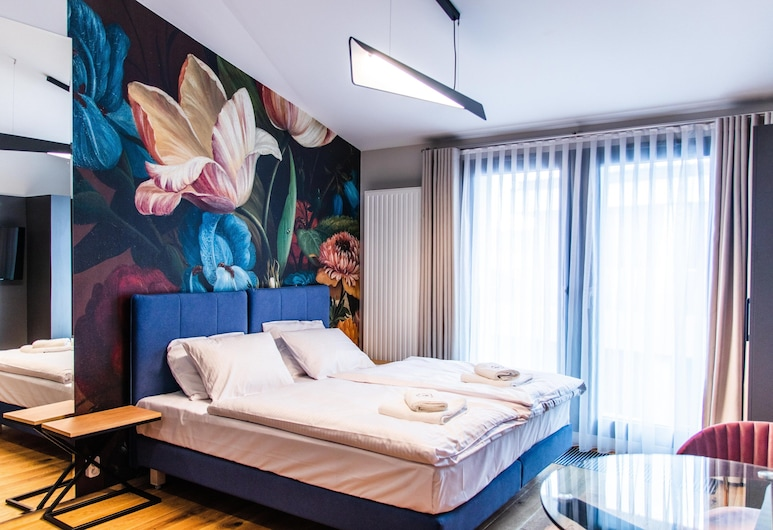 Inspire Miodova Residence, Kraków, Apartament typu Studio, Łóżko king, Pokój