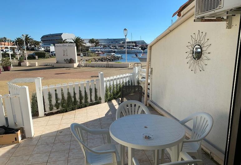 Village Naturiste - Le Marina Love Adults Only, Agde, Terrasse/veranda