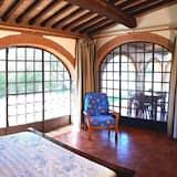 Villa, 2 chambres, piscine privée, vue jardin - Chambre