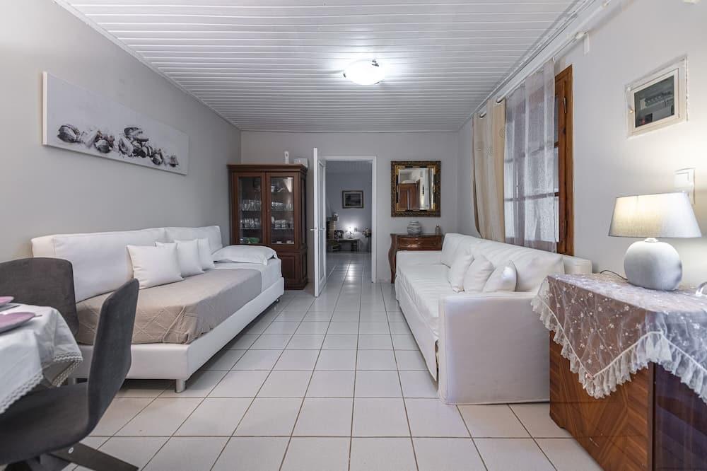 Rodinný apartmán, výhľad na more (Private Garden) - Obývacie priestory