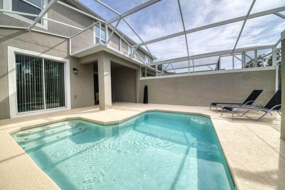 Familien-Stadtwohnung, zum Garten hin - Pool