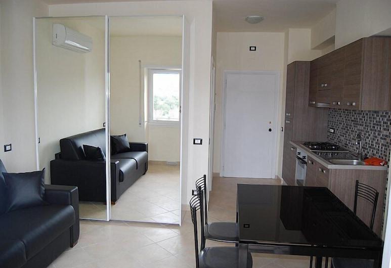 Appartamento Black & White, Portoferraio, Studio, Living Area
