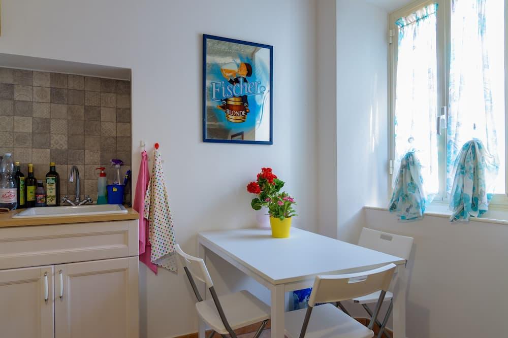 Lägenhet Basic - 2 sovrum (Grande) - Matservice på rummet
