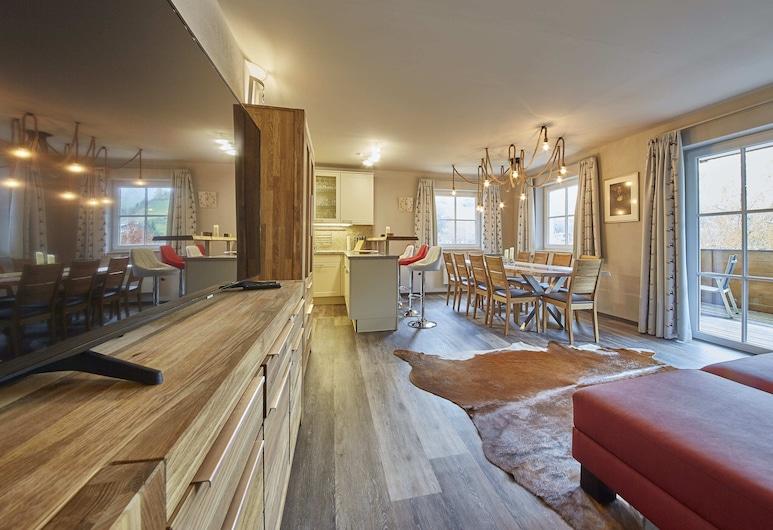 Appartement AlpenResort Top B1, Saalbach-Hinterglemm, Appartement, Woonruimte