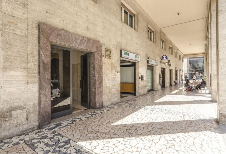 Il Campo Apartments, Bolonia, Wejście do obiektu