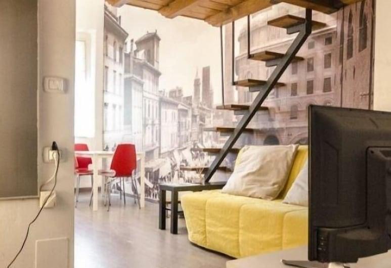 Appartamento Apollonia, Bologna, Apartman, 1 spavaća soba, Dnevni boravak