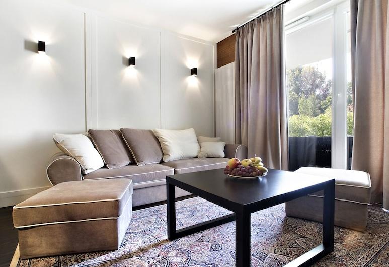 P&O Apartments Kolska, Varsovia, Departamento clásico, Sala de estar