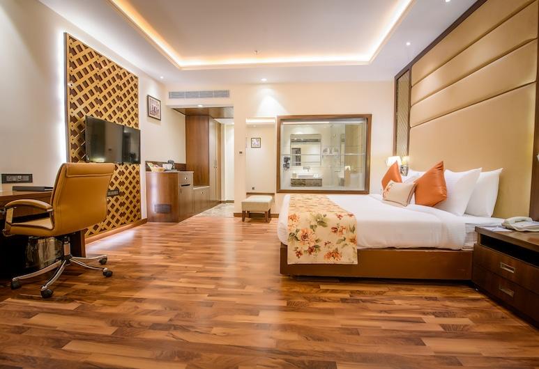 貝斯特韋斯特卡普爾塔拉酒店, Kapurthala, 行政套房, 1 張特大雙人床, 非吸煙房, 客房