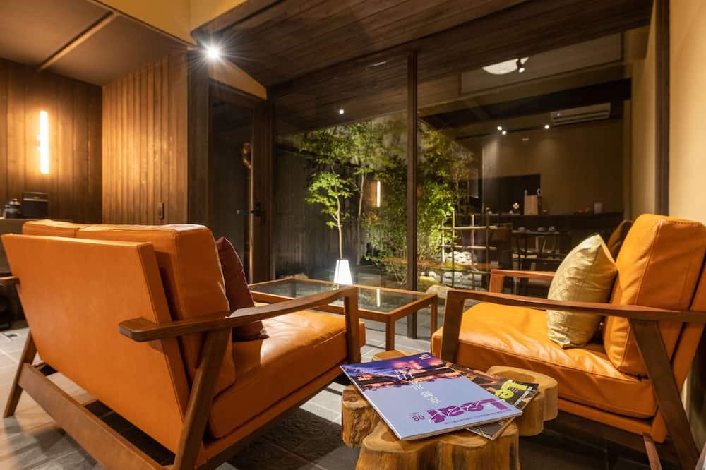 منزل (Private Vacation) - غرفة معيشة