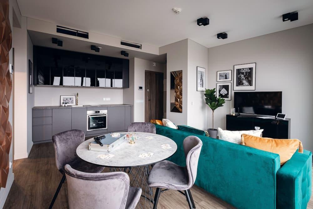 Dizaina dzīvokļnumurs - Numura ēdamzona