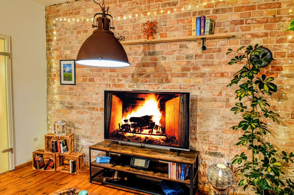 Premium studio, niet-roken, Uitzicht op de stad (incl. EUR 39 cleaning fee per stay) - Woonkamer