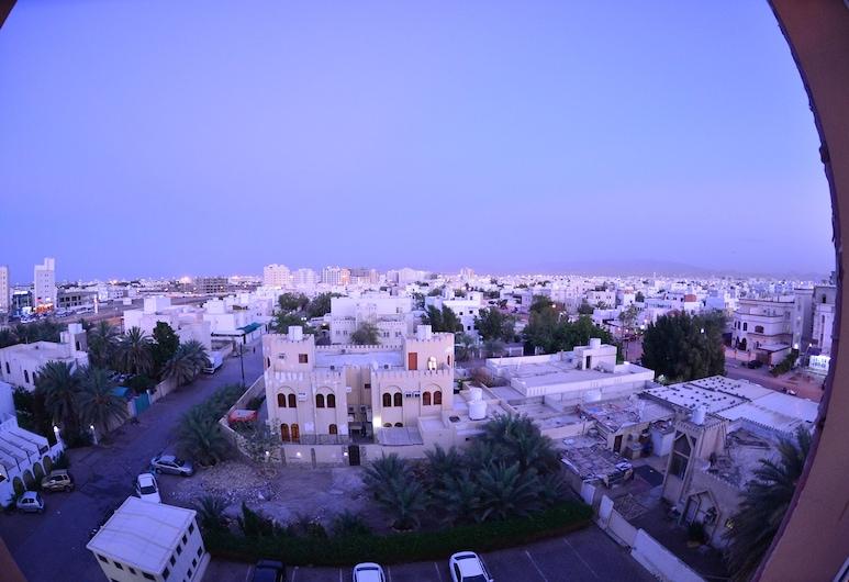 Husin Al Khaleej Hotel Apartment, Seeb, Vaade hotellist