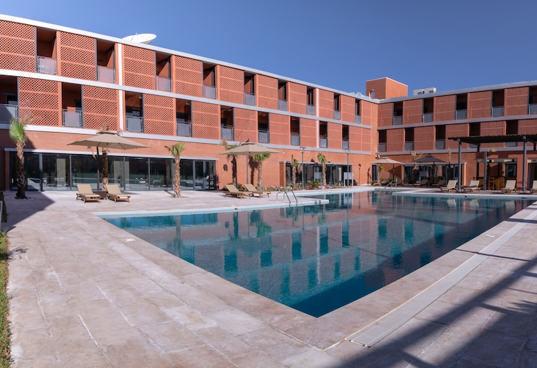 Hotel Touat, Adrar, Outdoor Pool