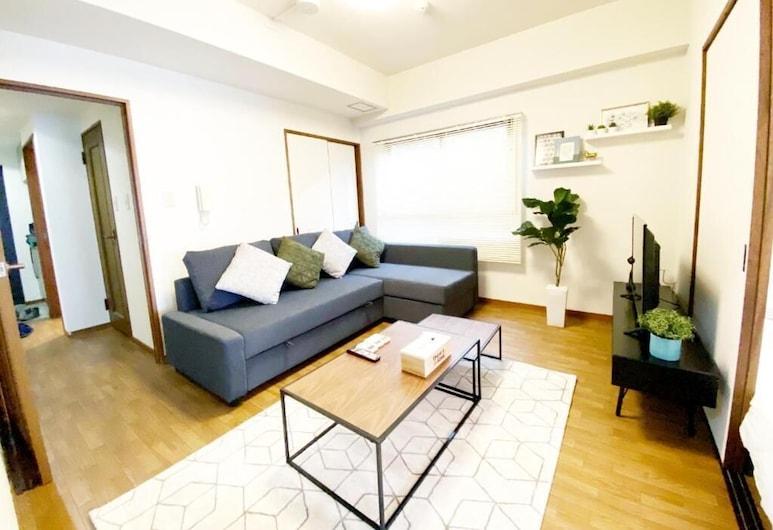 Hiroshima Your Court Dambara, Hiroshima, 3 Bedroom Apartment with Balcony 301, Living Area