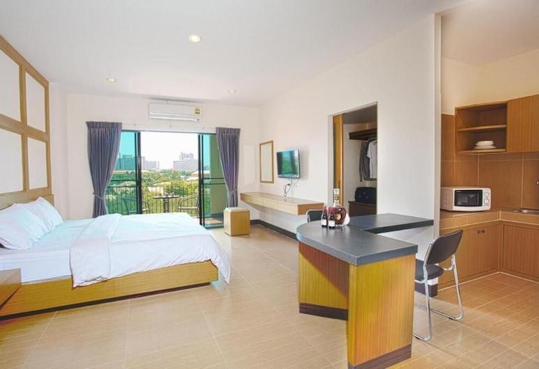 سيتي 1 ريزيدنس, باتايا, Superior King Room, غرفة نزلاء