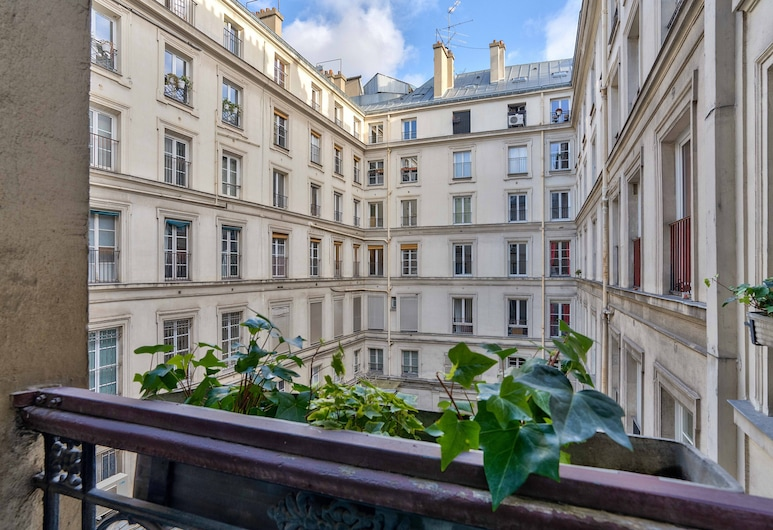 107 Urban Luxury Opera Rock Vinci, ปารีส, อพาร์ทเมนท์, วิวคอร์ทยาร์ด