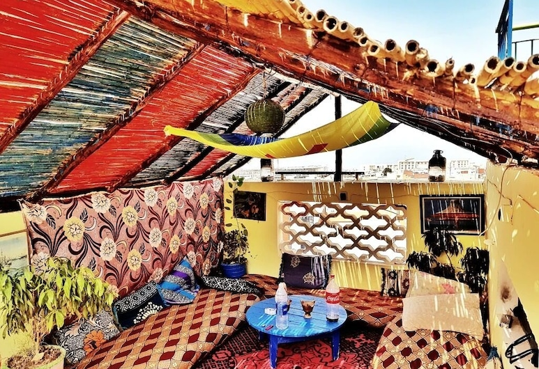 Nomad Surf House - Hostel, Aourir, Терраса/ патио