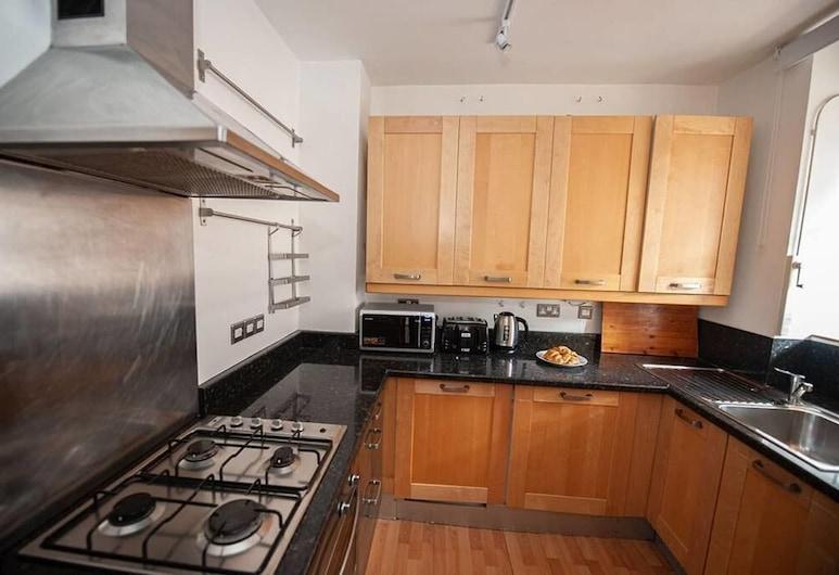 中倫敦滑鐵盧 2 房公寓酒店, 倫敦, 公寓, 私人廚房