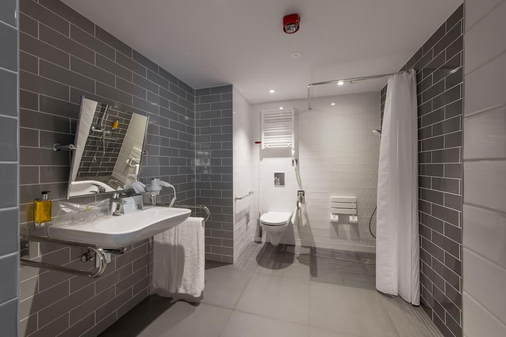 Standartinio tipo kambarys, su patogumais neįgaliesiems - Vonios kambarys