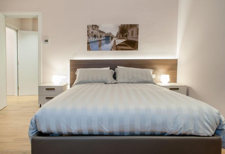 2 Navigli B&B, Milano, Superior Tek Büyük Yataklı Oda (Naviglio Pavese), Oda