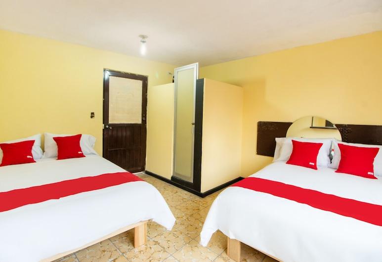 OYO Hotel Candy, San Luis Potosi, Standardrum - 2 dubbelsängar, Gästrum