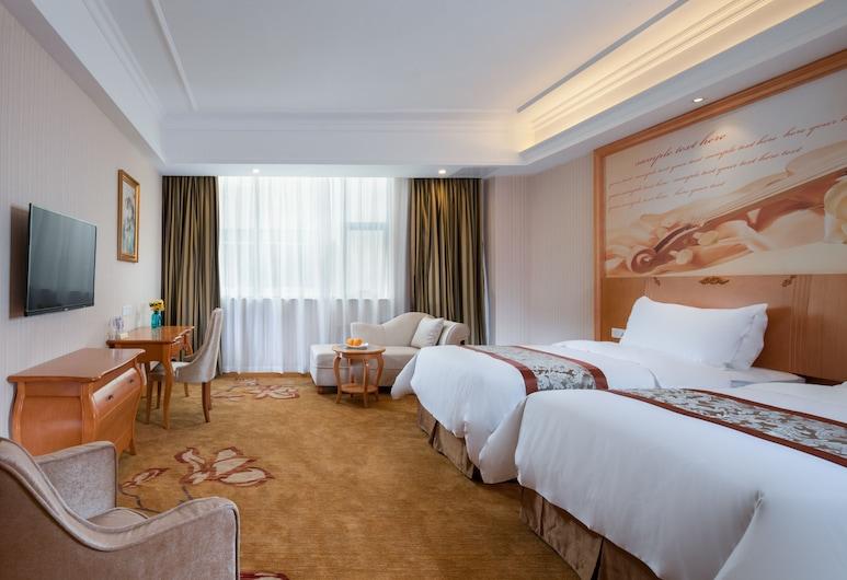 維也納酒店廣州機場高速平沙店, 廣州市白雲區, 商務雙床房, 客房