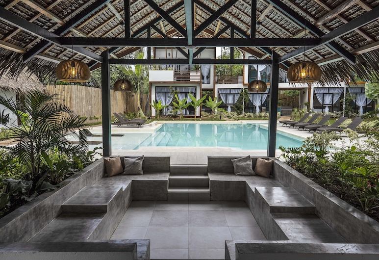 Bird of Paradise Bohol Resort, Panglao, Hotel Lounge