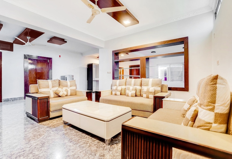 OYO 61260 Comfortable Stay Nandan Vihar Patia, Bhubaneshwar, Soggiorno