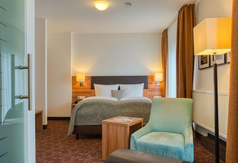 Centro Hotel Sautter, Stuttgart, Quarto Duplo Comfort, Área de Estar