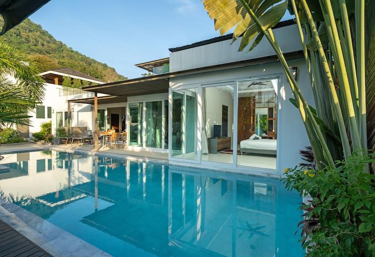 Tropical Pool Villa With Private Rooftop, Kamala, Luxury Villa, Pool