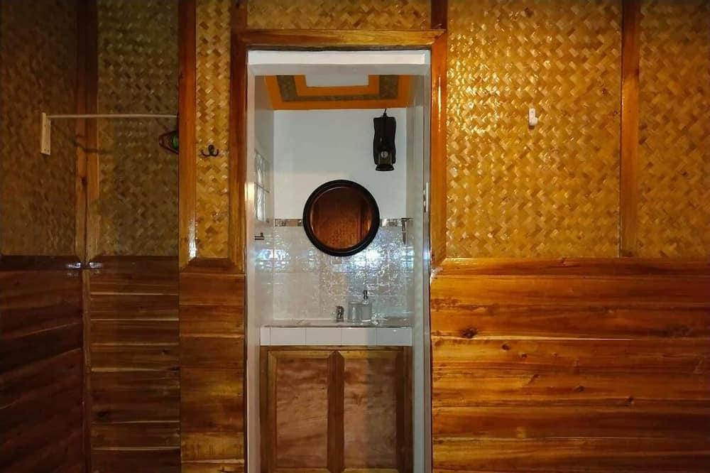 Deluxe-Bungalow - Badezimmer