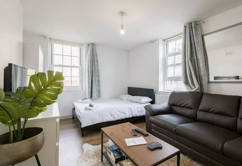 Deluxe Apartment - Heart Of Kings Cross, London, Apartment, 2 Bedrooms, Living Area