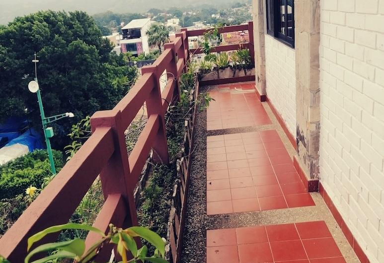 Hotel Wayak Palenque, Palenque, Habitación cuádruple básica, Balcón